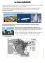 Exercice L'industrie en France : CM2