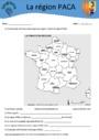 Exercice La France et son découpage administratif : CE2