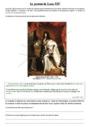 Exercice La monarchie absolue et le siècle des lumières : CM1