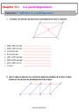 Exercice Le parallélogramme : 5ème