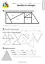 Exercice Le triangle : CE2