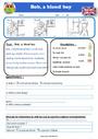 Exercice Lecture / compréhension - Anglais : CE1 - Cycle 2 ...