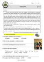 Exercice Lecture / Étude de la langue : CM1