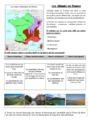 Exercice Les climats en France : CM1