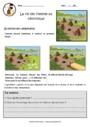 Exercice Les débuts de l'agriculture : CM1