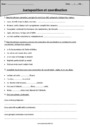Exercice Les propositions : CM2