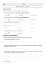 Exercice Les solutions aqueuses : Seconde - 2nde