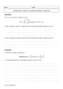 Exercice Limite d'une fonction : Terminale