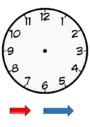 Exercice Lire l'heure, horloge : CE1