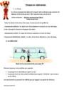 Exercice Matière, mouvement, énergie, information : CM2