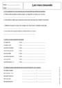 Exercice Mots composés : 4ème