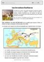 Exercice Mouvements de populations (IV-Xe siècles) : CM1