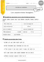 Exercice Niveau de langue : CM2