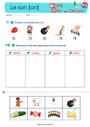 Exercice [on] on – Son simple : CE1