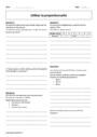 Exercice Organisation et gestion des données : 6ème