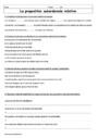 Exercice Phrase / Types de phrase : 6ème