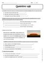 Exercice Questions tags - Anglais : 5ème