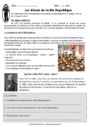Exercice Régimes politiques - IIIeme république : CM2