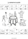 Exercice Semaine du goût : Maternelle - Cycle 1