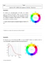 Exercice Spectres UV- visibles des espèces colorées : Terminale