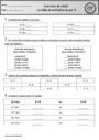 Exercice Tables de multiplication : CP