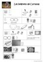 Exercice Textes prescriptifs / Ecrits fonctionnels : CE1