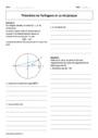 Exercice Théorème de Pythagore et sa réciproque : Seconde - 2nde
