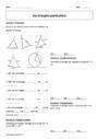Exercice Triangles : 6ème
