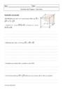 Exercice Vecteur espace vectoriel : Terminale