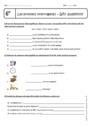 Exercice Wh- questions - Anglais : 6ème
