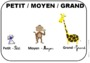 Leçon et exercice : Formes et grandeurs : Maternelle - Cycle 1