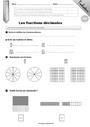 Leçon et exercice : Fractions : CM1