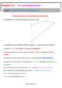 Cours et exercice : Géométrie plane : 5ème