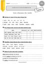 Leçon et exercice : Grammaire - Étude de la langue : CE1