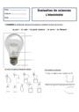 Leçon et exercice : L'électricité : CE1