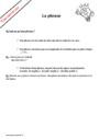 Leçon et exercice : La phrase : CP