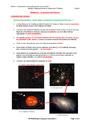 Cours et exercice : La structure de l'Univers : 4ème
