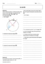 Cours et exercice : Le cercle : Seconde - 2nde