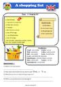 Leçon et exercice : Lecture / compréhension - Anglais : CM1