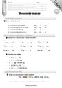 Leçon et exercice : Masse g, kg : CM1