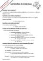 Leçon et exercice : Matériaux et objets techniques : CM2