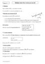 Cours et exercice : Multiplication d'un vecteur par un réel : Seconde - 2nde