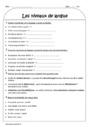 Leçon et exercice : Niveau de langue : CE2