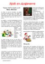 Leçon et exercice : Noël : CM1