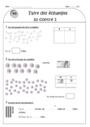 Leçon et exercice : Nombres de 1 à 5 : CE1