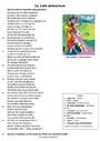Cours et exercice : Poésies : 6ème