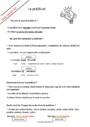 Leçon et exercice : Prédicat : CM1