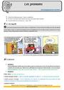 Leçon et exercice : Pronom : CM1