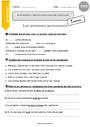 Leçon et exercice : Pronom : CM2