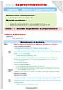 Leçon et exercice : Proportionnalité, Organisation gestion des données : CM1